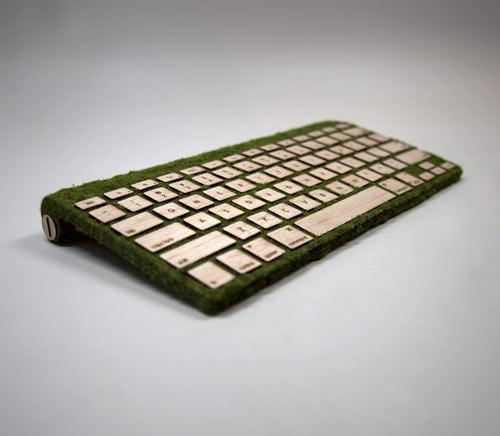 Natural Keyboard เมื่อเทคโนโลยีมาพบกับธรรมชาติ 13 - Keyboard