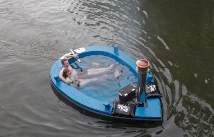 แช่น้ำล่องเรือชิลๆกับ hotTug jacuzzi boat  20 - boat