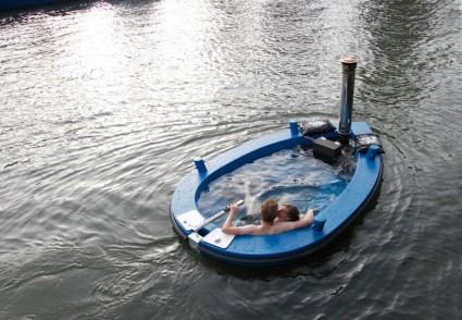 แช่น้ำล่องเรือชิลๆกับ hotTug jacuzzi boat 19 - boat