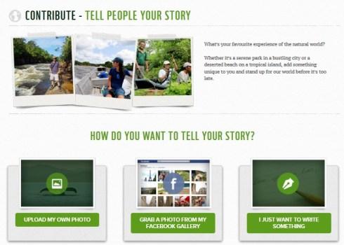 WWF Earth Book 2012 Project เฟชบุ๊คของธรรมชาติ 17 - Green project