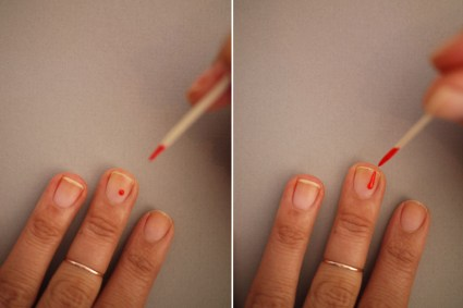 DIY.drippy nail ต้อนรับฮาโลวีน 16 - DIY