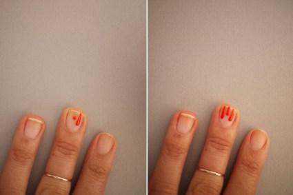 DIY.drippy nail ต้อนรับฮาโลวีน 17 - DIY