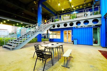 Skykick Arena สนามฟุตบอล ย่านบางนา-ตราดซอย 6  7 - Skykick Arena