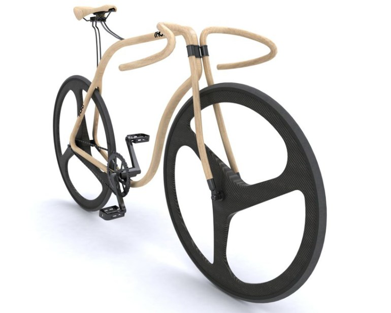 Thonet bike by andy martin 13 - beechwood