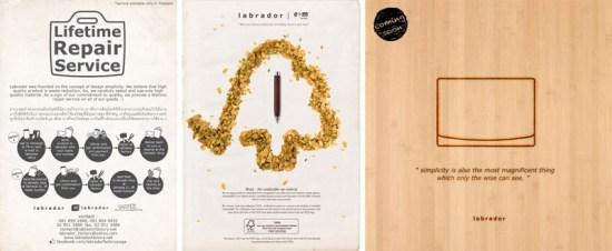 111 550x226 Labrador Factory วัสดุที่ทำมาจาก ธรรมชาติ ประเภท หนังแท้ ผ้า และกระดาษ