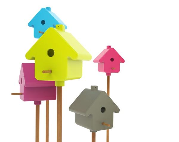 Home Tweet Home..บ้านนกแนวใหม่ 13 - bird house