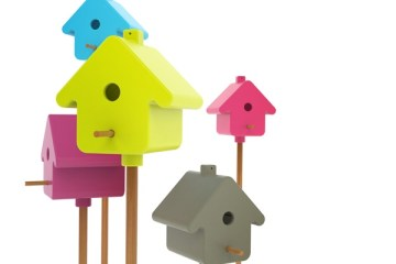 Home Tweet Home..บ้านนกแนวใหม่ 2 - bird house