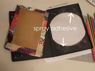 25551123 181125 DIY กล่องดินสอสี จากกล่อง DVD เก่า