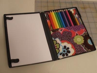 25551123 181138 DIY กล่องดินสอสี จากกล่อง DVD เก่า