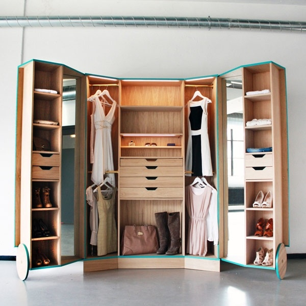 25551124 175853 ตู้เสื้อผ้าผสม Walk In Closet  เปิดปิดได้ ประหยัดพื้นที่