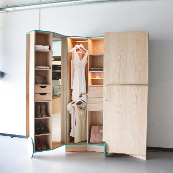 25551124 175903 ตู้เสื้อผ้าผสม Walk In Closet  เปิดปิดได้ ประหยัดพื้นที่