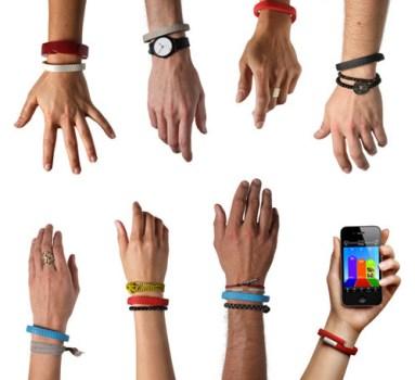 Up wristband by Jawbone 13 383x350 Jawbone Wristband สายสวมข้อมืออัจฉริยะ