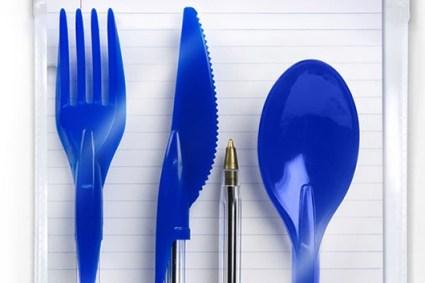 dine ink pen utensils 425x283 Dineink Pen Cap Cutlery