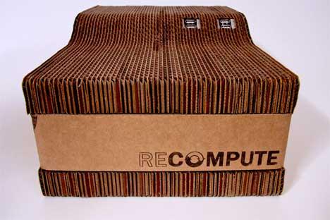Cardborad PC หุ้มกระดาษแข็ง 18 - Green