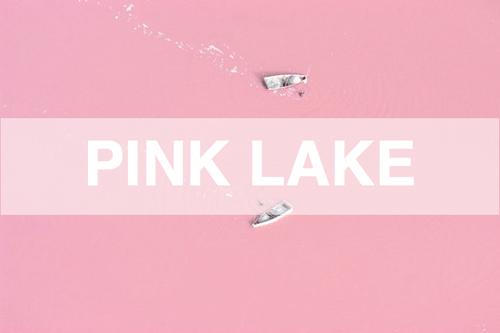 Strawberry Milkshake Lake @Retba ทะเลสาบนมเย็น 14 - Lake