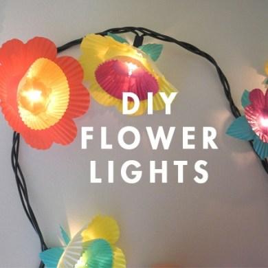 DIY ไฟประดับ..ช่อดอกไม้จากถ้วยคัพเค้ก 14 - DIY