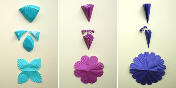 25551208 085508 DIY ไฟประดับ..ช่อดอกไม้จากถ้วยคัพเค้ก