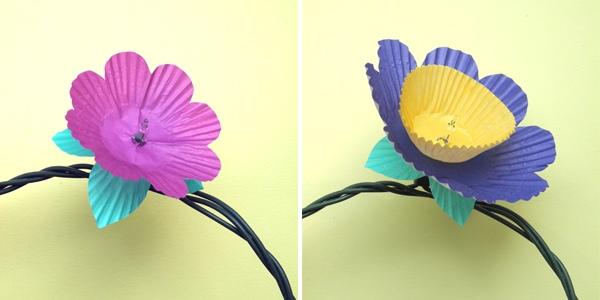 25551208 085518 DIY ไฟประดับ..ช่อดอกไม้จากถ้วยคัพเค้ก