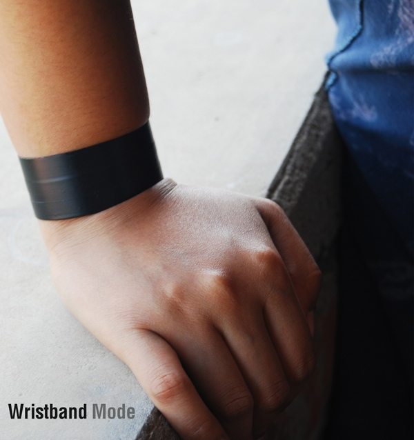 สายรัดข้อมือ เพื่อคนตาพิการ ช่วยแยกแยะชนิดของธนบัตร 13 - Wristband