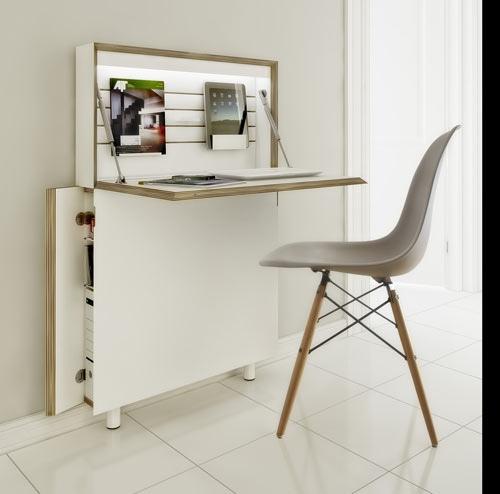 25551213 172959 Flatmate โต๊ะคอมพิวเตอร์ ประหยัดพื้นที่ อย่างแบน