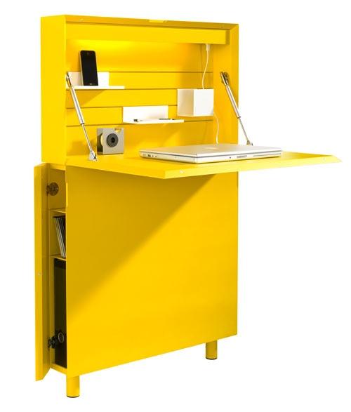 25551213 173004 Flatmate โต๊ะคอมพิวเตอร์ ประหยัดพื้นที่ อย่างแบน