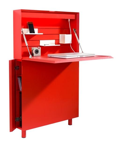 25551213 173020 Flatmate โต๊ะคอมพิวเตอร์ ประหยัดพื้นที่ อย่างแบน