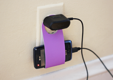 DIY.phone charging holder from reuse cardboard 16 - cardboard