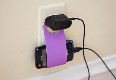 DIY.phone charging holder from reuse cardboard 28 - cardboard