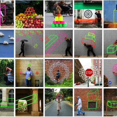 3D Tape Art Installation เทปกาวลายกราฟิก สร้างมิติที่สร้างสรรค์ 14 - New York