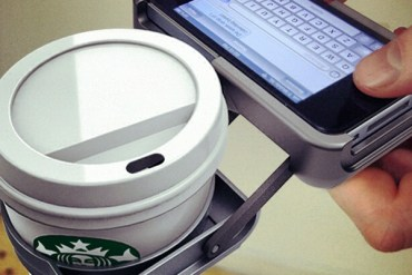 ที่วางถ้วยกาแฟ บน iPhone..จะกล้าใช้มั๊ยเนี่ย??? 30 - iPhone