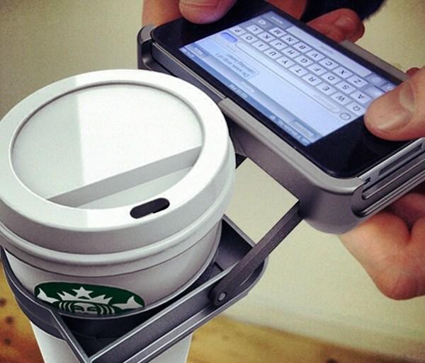 ที่วางถ้วยกาแฟ บน iPhone..จะกล้าใช้มั๊ยเนี่ย??? 28 - iPhone