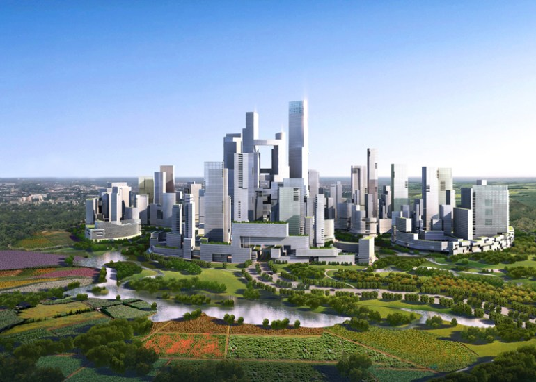 "Design for Sustainable City แนวคิดเรื่อง ""Graden City"" เมืองสรวงสววรค์แห่งสวนสวย 13 - Architecture"