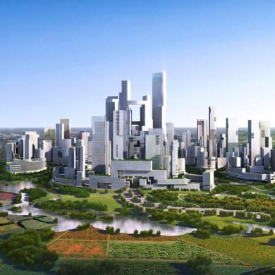"Design for Sustainable City แนวคิดเรื่อง ""Graden City"" เมืองสรวงสววรค์แห่งสวนสวย 15 - Architecture"