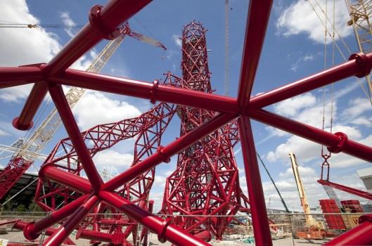 NK293379 942long 529x350 Arcelormittal orbit tower หอคอยแห่งโอลิมปิค Olympic Park กรุงดอนลอน ประเทศอังกฤษ