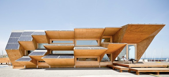 endesa solar house barcelona 9 Green Architect Endesa Solar Pavilion แนวคิด การนำพลังงานแสงอาทิตย์มาใช้กับตัวอาคารได้อย่างชาญฉลาด