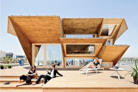 iaac endesa solar pavilion 3 Green Architect Endesa Solar Pavilion แนวคิด การนำพลังงานแสงอาทิตย์มาใช้กับตัวอาคารได้อย่างชาญฉลาด