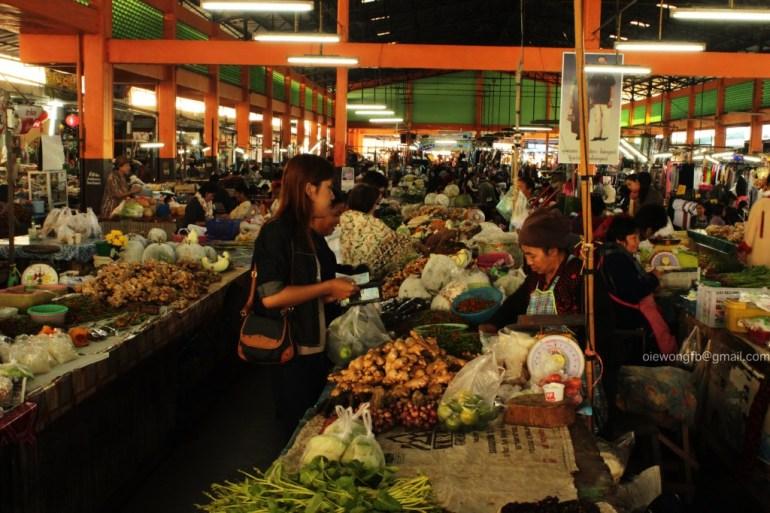 อรุณรุ่งที่นี่ .. น่าน 13 - Morning Market in Nan