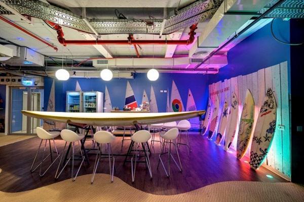 25560207 224944 สำนักงานใหม่ของ Google ในเมืองเทลอาวีฟ อิสราเอล... มันยอดเยี่ยมเกินบรรยาย