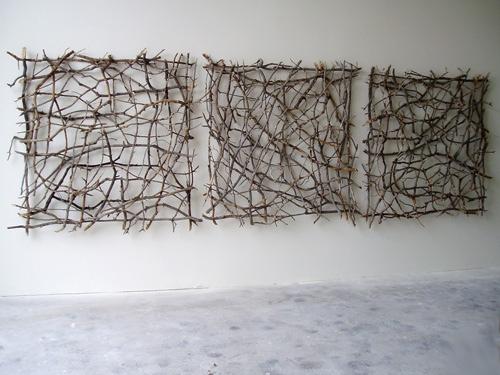 25560218 164948 งานศิลปะประดับผนังจากกิ่งไม้