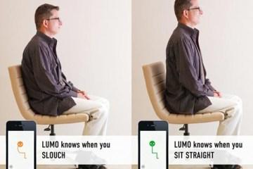 LUMOback Sensor ..ช่วยเตือนให้นั่ง ยืนหลังตรง ตลอด เพื่อสุขภาพและบุคลิกที่ดี