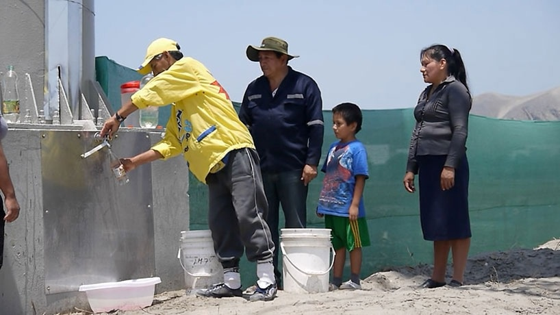25560227 153704 ป้ายโฆษณาผลิตน้ำดื่มสะอาดจากอากาศ..ครั้งแรกในโลก