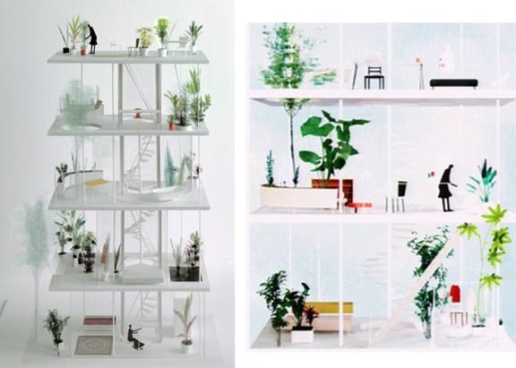 444 โปร่งได้ใจ House and Garden in Tokyo by Ryue Nishizawa