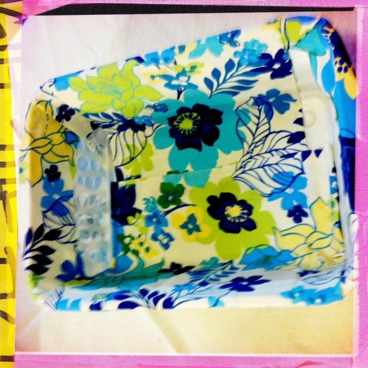 IMG 4055 1 DIY แปลงโฉมตะกร้าพลาสติก เป็นตะกร้าผ้าสุดสวย