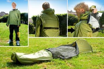JakPak – Jacket and Sleeping Bag เสื้อ+ถุงนอน สำหรับนักท่องเที่ยว 13 - JakPak – Jacket and Sleeping Bag