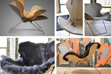 Re-Ply Chair from Cardboard เก้าอี้ประดิษฐ์จากกล่องกระดาษ 13 - Chair from Cardboard