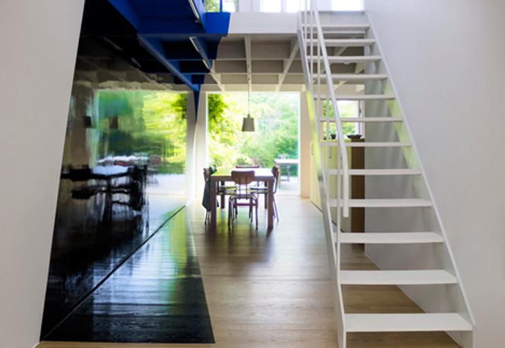 Transforming a laundry by Alain Hinant 3 เปลี่ยนอาคารซักรีด..ให้กลายเป็นบ้านน่าอยู่ของศิลปิน