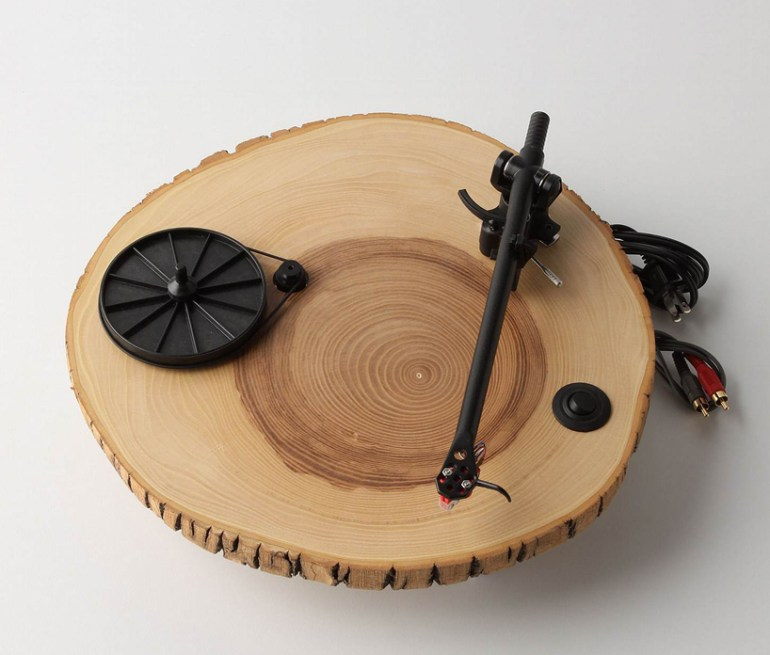 wooden turntable 13 - audio