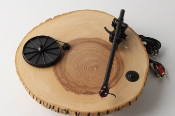 wooden turntable 2 - audio
