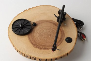 wooden turntable 28 - wood