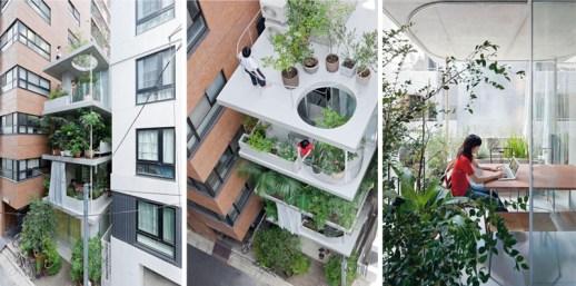 b1 โปร่งได้ใจ House and Garden in Tokyo by Ryue Nishizawa